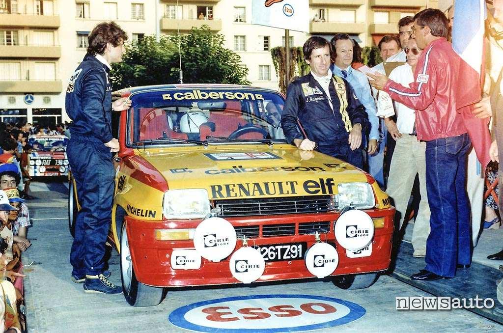 Renault 5 Turbo Cevennes 1980 equipaggio Ragnotti Andrie
