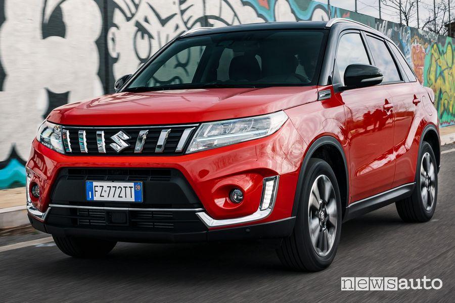 Suzuki Vitara e Ignis Hybrid a Sanremo