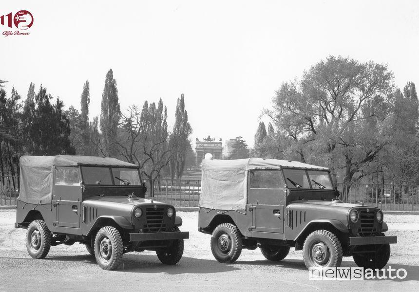 """Il fuoristrada Alfa Romeo 1900 M """"Matta"""" AR51"""