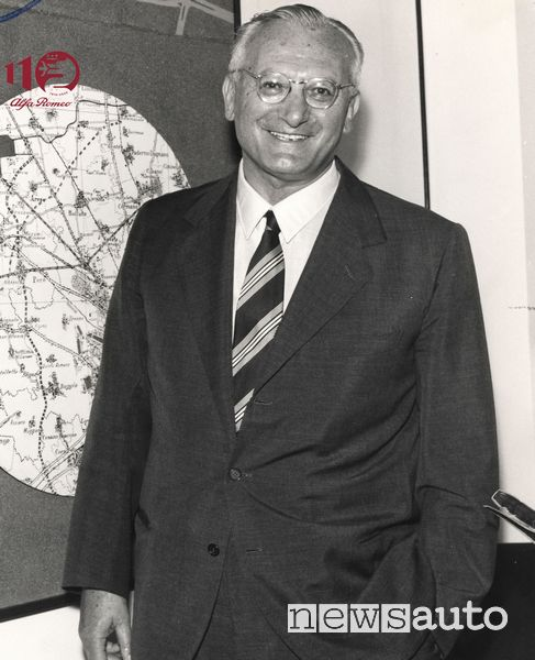 Giuseppe Luraghi, presidente Alfa Romeo dal 1960 al 1974