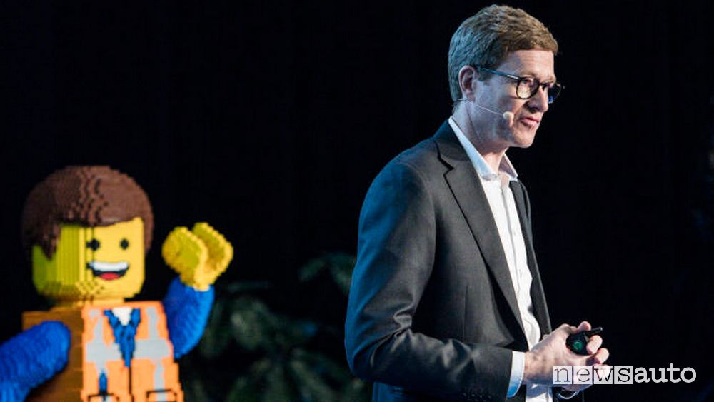 Niels. B. Christiansen, CEO Gruppo LEGO