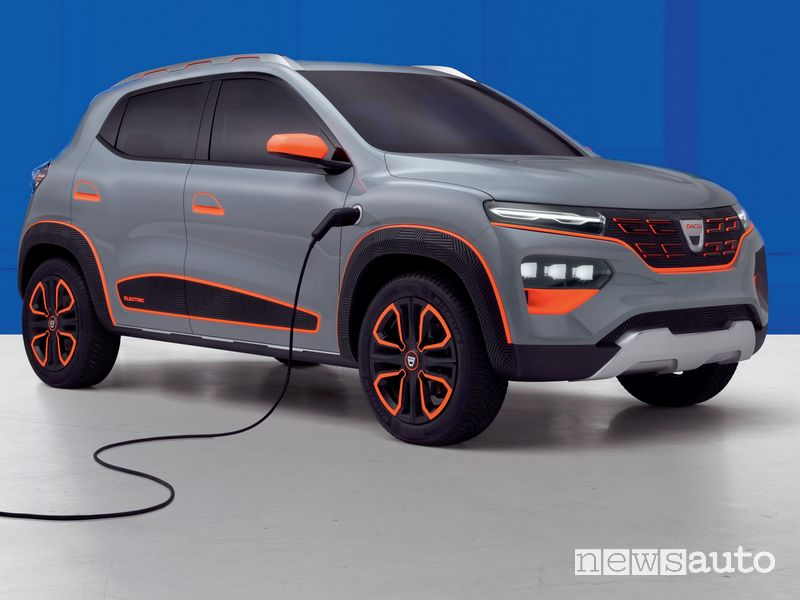 Dacia Spring show car elettrica del 2020