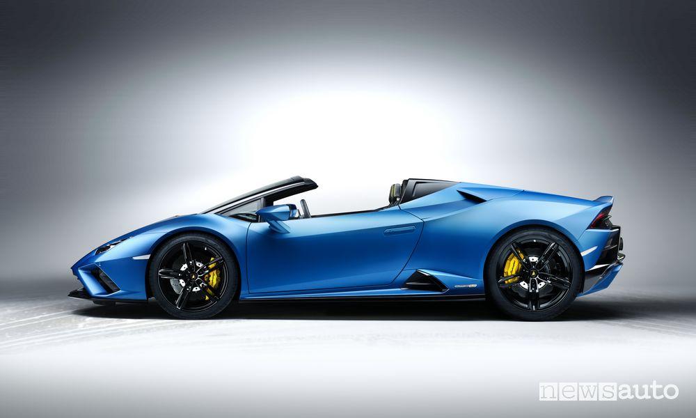 Lamborghini Huracán EVO RWD Spyder capote aperta