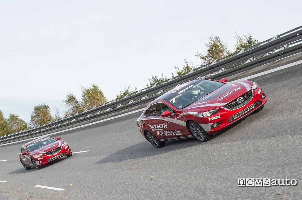 Mazda6 diesel record percorrenza 2014