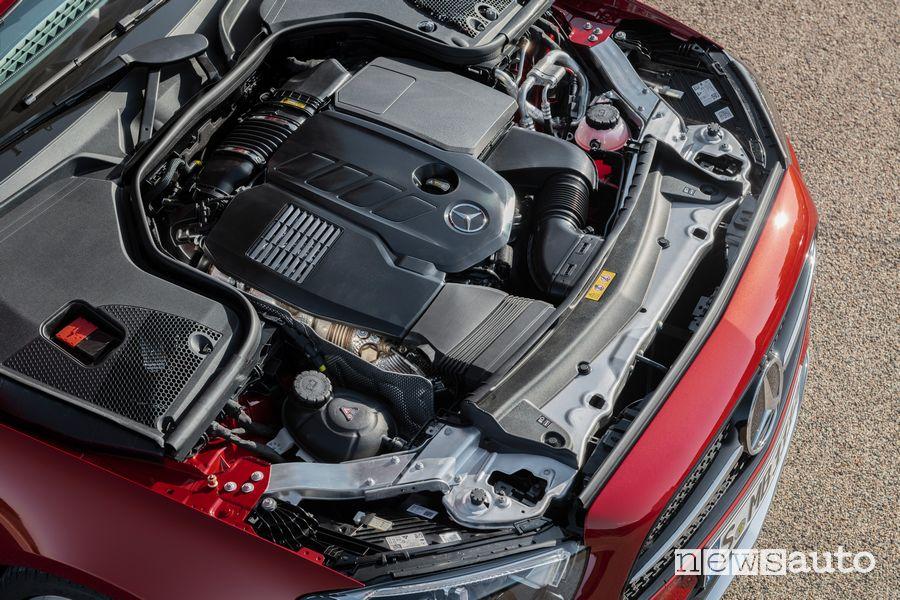 Vano motore Mercedes-Benz Classe E Cabriolet