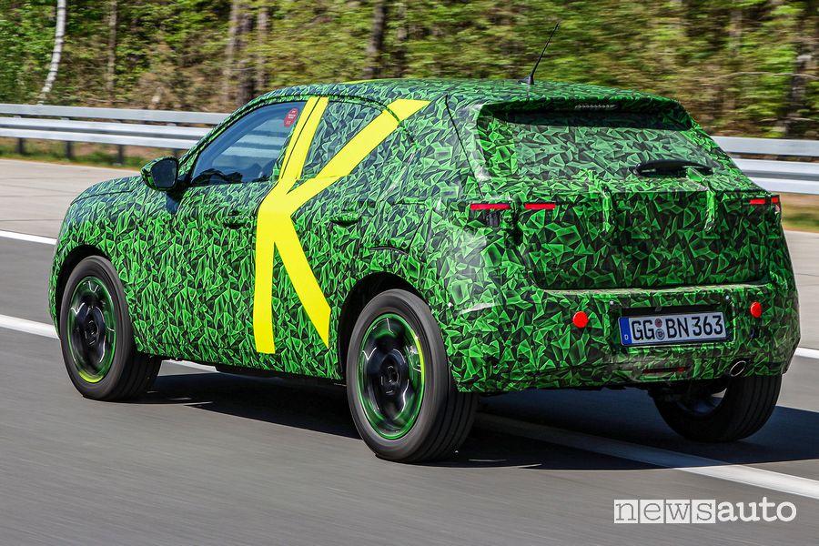 Opel Mokka test su strada in Germania