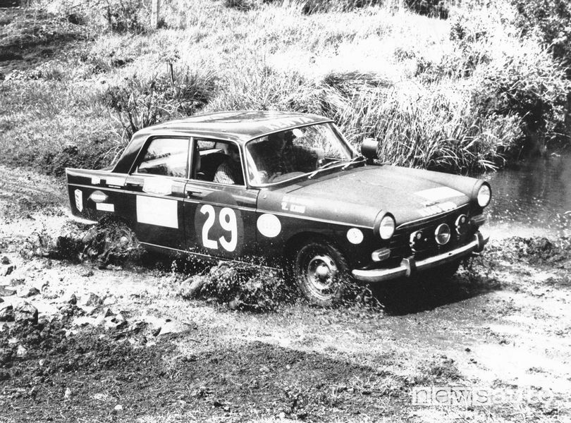 Peugeot 404 nell'East African Safari