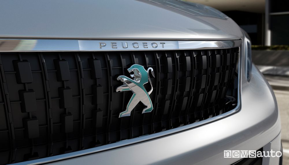 Leone calandra anteriore Peugeot e-Expert elettrico