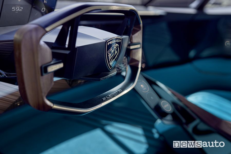 Volante Peugeot e-Legend Concept