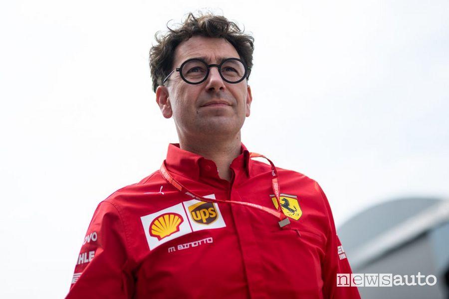 Mattia Binotto, Direttore della Gestione Sportiva e Team Principal Ferrari