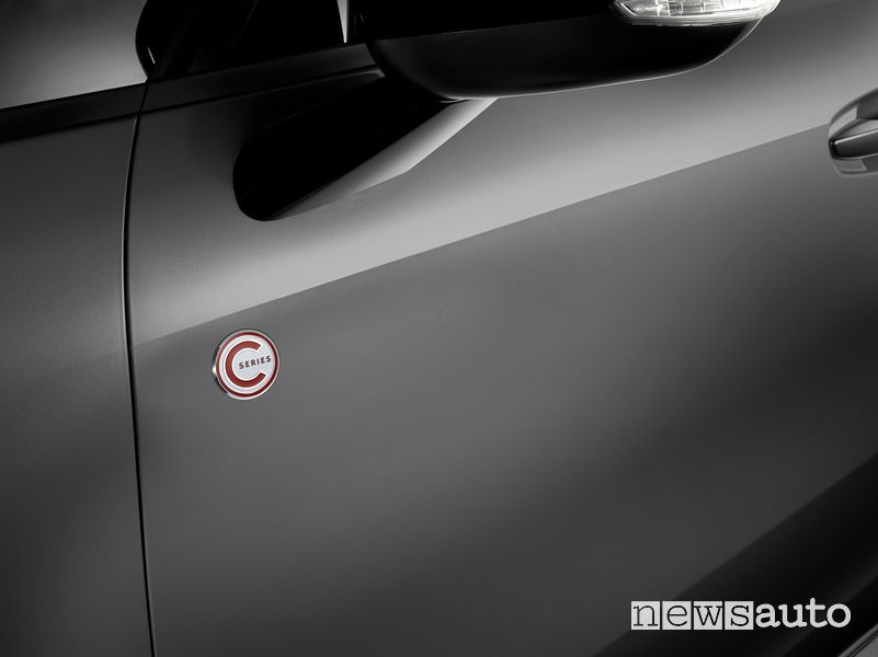 Logo serie speciale C-Series Citroën Grand C4 SpaceTourer