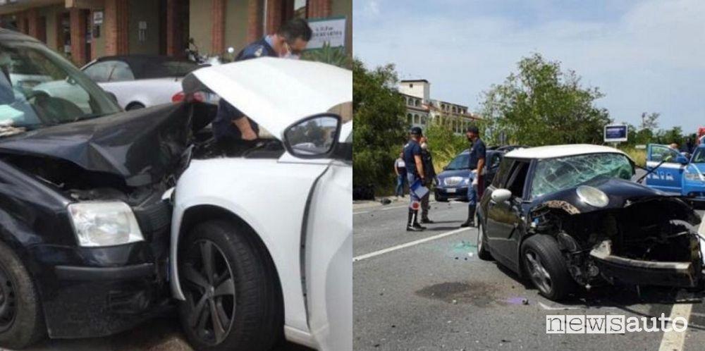 Incidenti stradali, in aumento nella Fase 2 del Covid-19