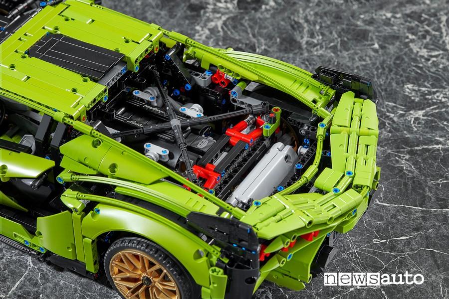 Lamborghini Siàn motore v 12