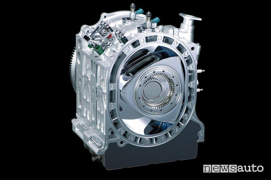 Rotore del motore Wankel ideato da Mazda