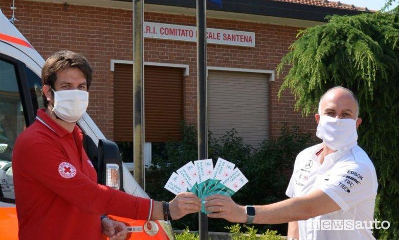 Donazioni Covid-19, Petronas al fianco della Croce Rossa