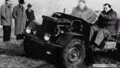 Photo of Prototipo 4×4, la storia della Peugeot 203 militare