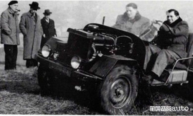 Prototipo Peugeot 4x4
