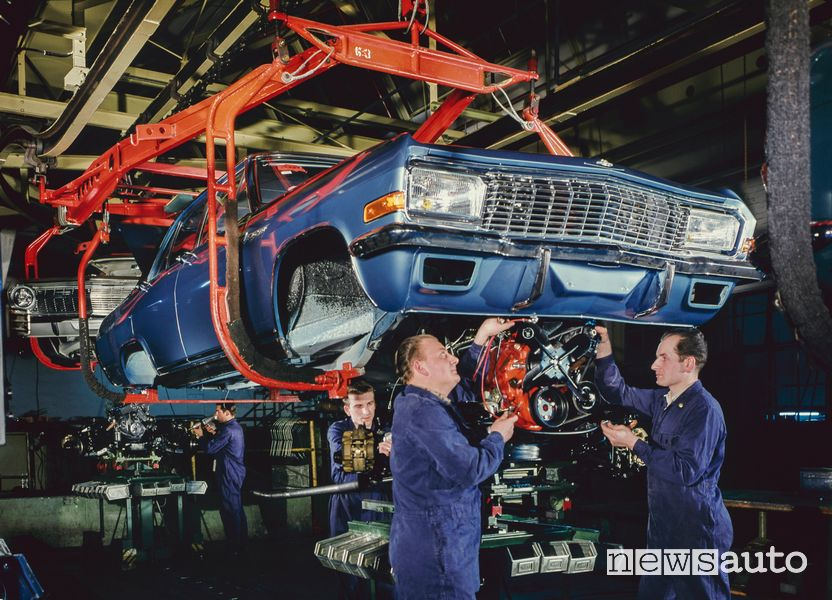 motore V8 Opel Admiral