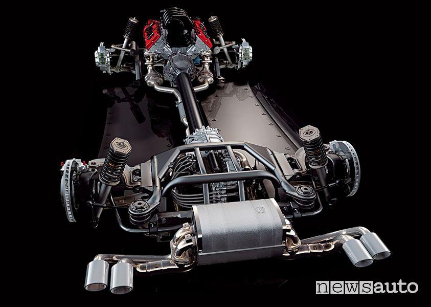 Meccanica Alfa Romeo 8C Competizione, 2006