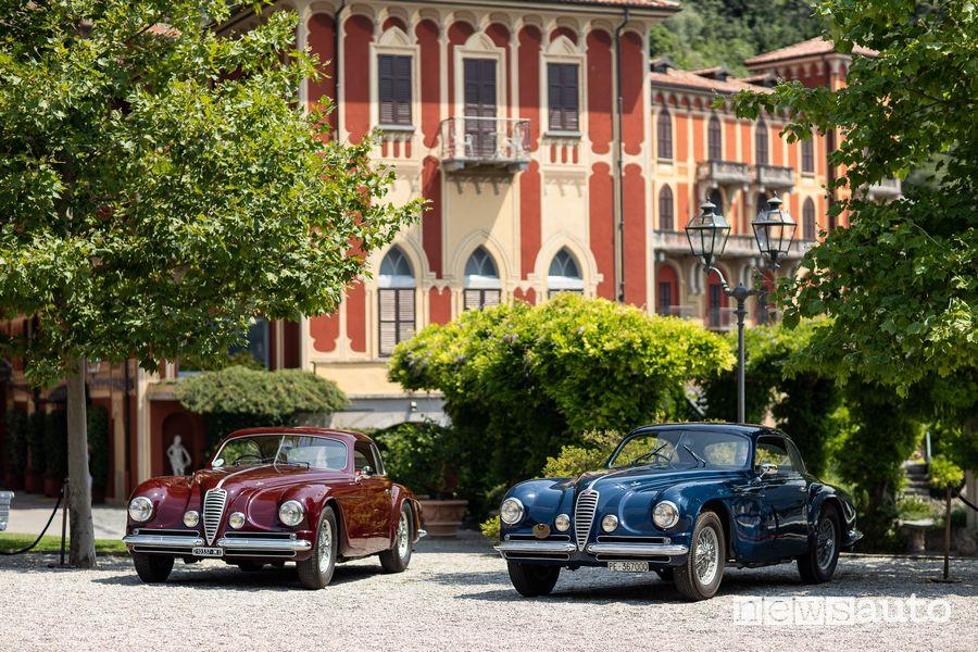 Alfa Romeo 6C 2500 SS Coupé Villa d'Este cortile Hotel Villa d'Este
