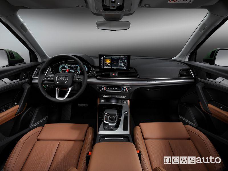 Plancia strumenti abitacolo Audi Q5 2021