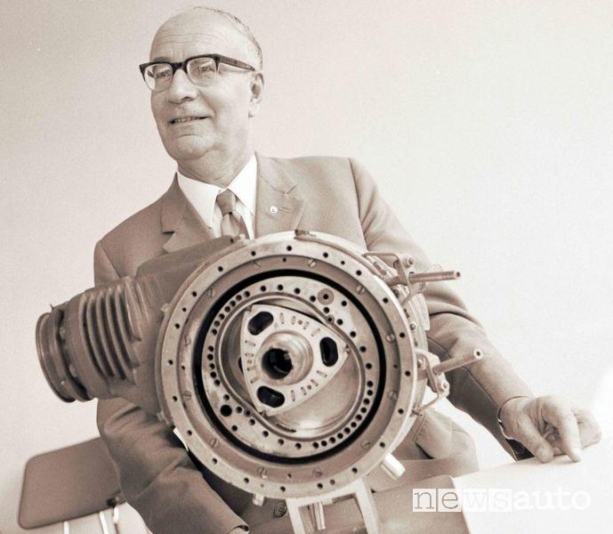 Felix Wankel, il padre del motore rotativo wankel