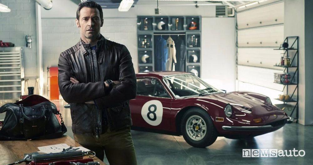 Hugh Jackman è Enzo Ferrari nel film sul Drake