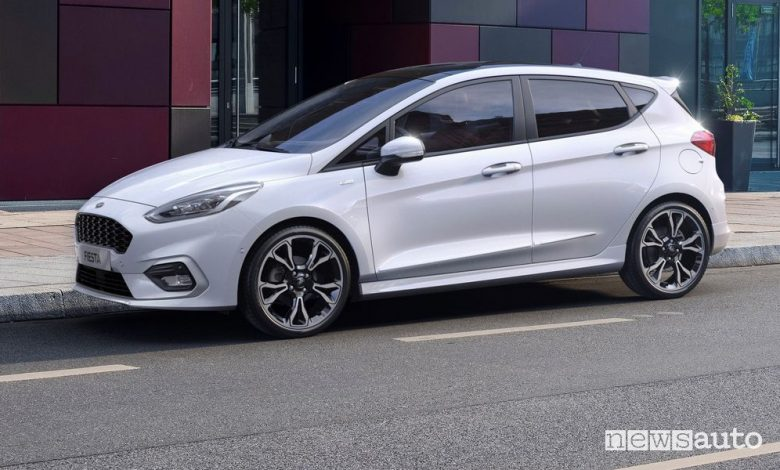 Ford Fiesta ibrida, motore EcoBoost Hybrid MHEV