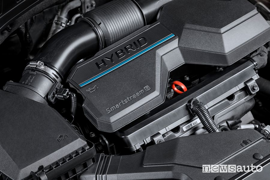 Motore Smartstream Full Hybrid Hyundai Santa Fe