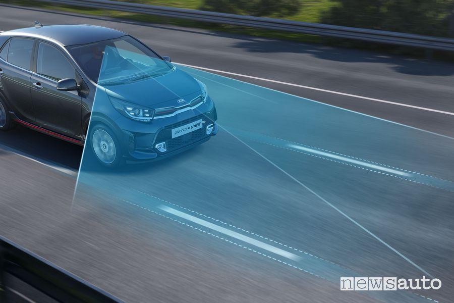Radar ADAS nuova Kia Picanto GT Line