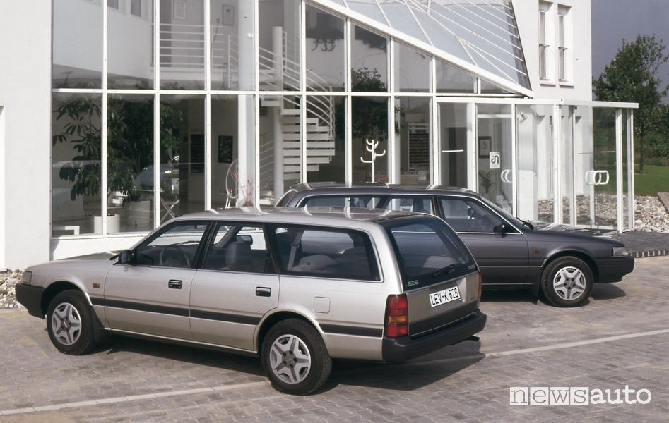 Mazda 626 Wagon, 1987