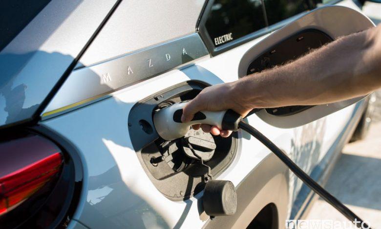 Auto elettriche Mazda, 13 modelli elettrificati entro il 2025