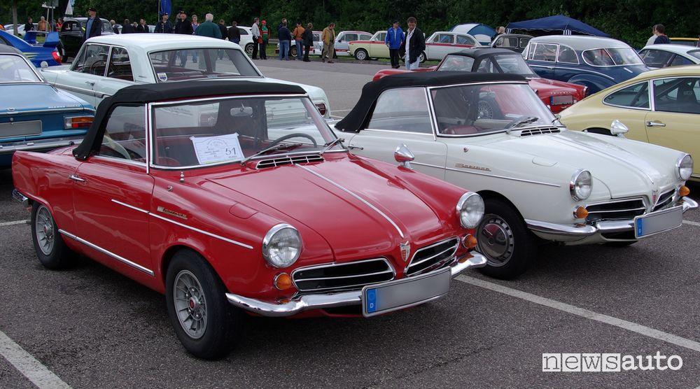 """NSU """"Prinz Spider"""" nel '63, a prima vettura di serie ad adottare un motore rotativo"""
