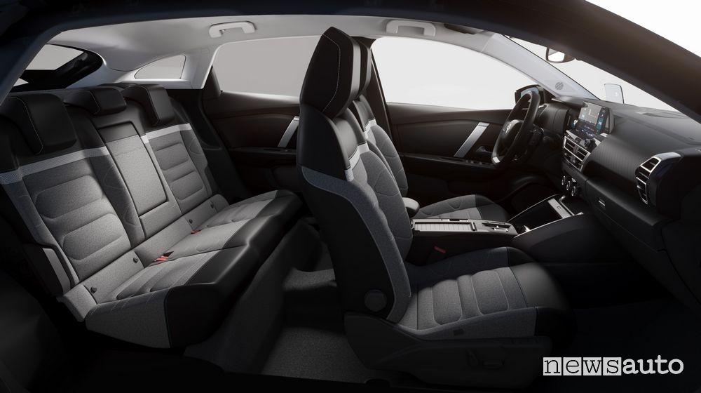 Sedili abitacolo nuova Citroën C4