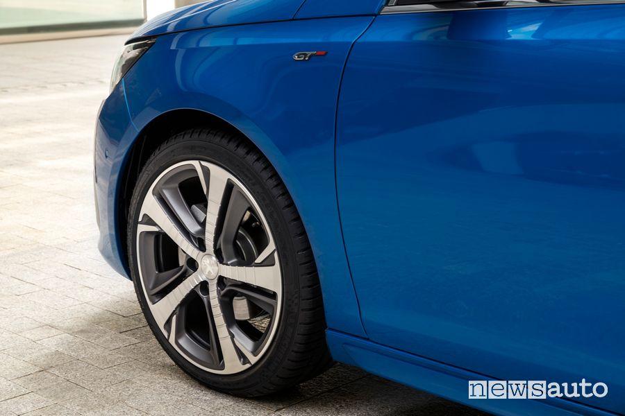 """Cerchi in lega 18"""" Peugeot 308"""