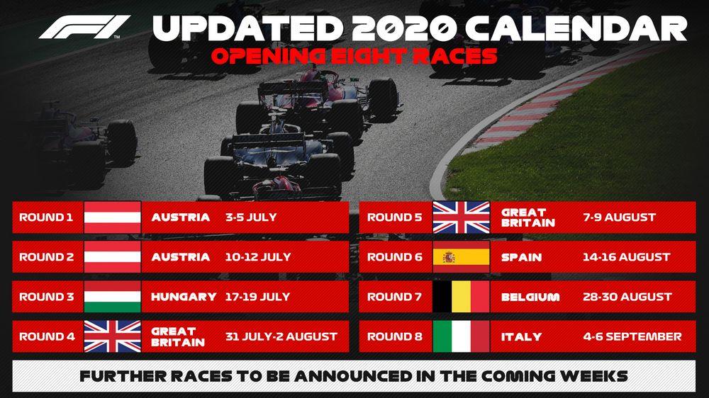 Calendario F1 2021 Orari Oggi Calendario F1 2020 aggiornato: tappe, date, orari dei gran premi