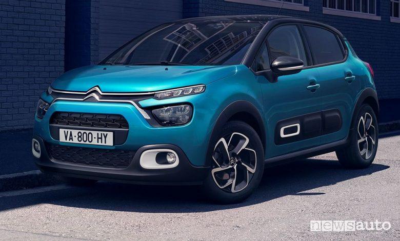 Citroën C3 auto neopatentati quale scegliere