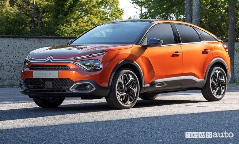 Nuova Citroën C4, com'è, caratteristiche