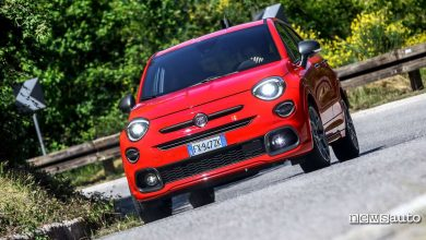 Photo of Fiat 500X Sport, prova su strada con motore 1.3 FireFly Turbo DCT
