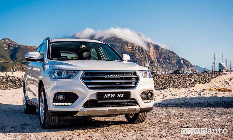 Haval H2, caratteristiche e prezzi del SUV economico a GPL