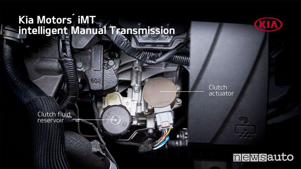frizione cambio manuale Kia elettronico iMT