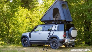 Photo of Tenda da tetto, tra gli accessori per il nuovo Land Rover Defender