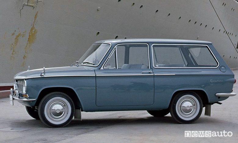 auto per la famiglia Mazda Familia del 1963