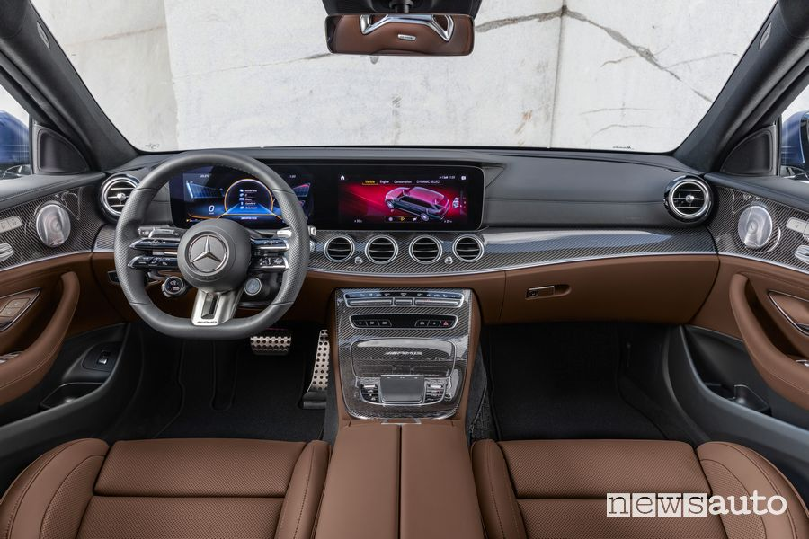 Plancia strumenti abitacolo Mercedes-AMG E 63 4Matic+ S wagon