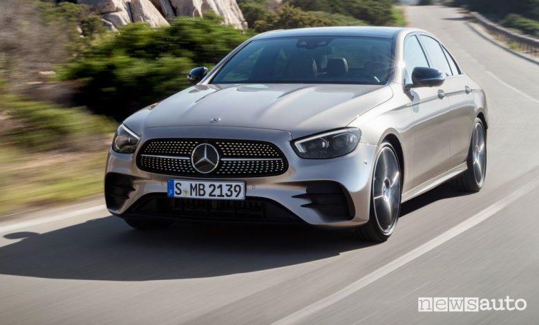 Mercedes Classe E restyling, caratteristiche e prezzi