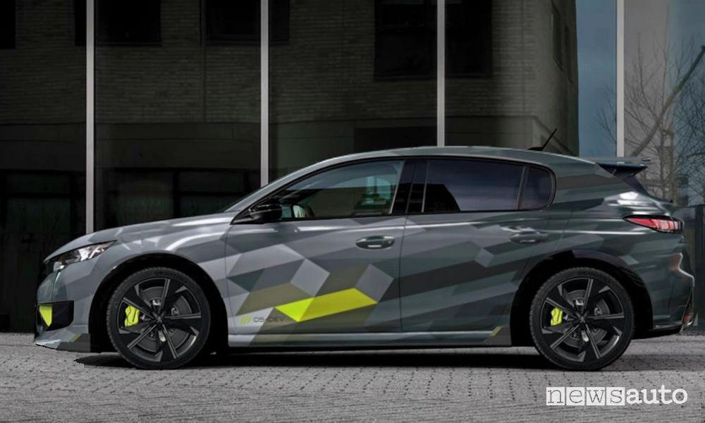 Come sarà la nuova Peugeot 308 PSE