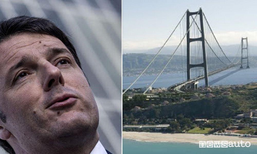 Matteo Renzi favorevole alla realizzazione del Ponte sullo stretto di Messina