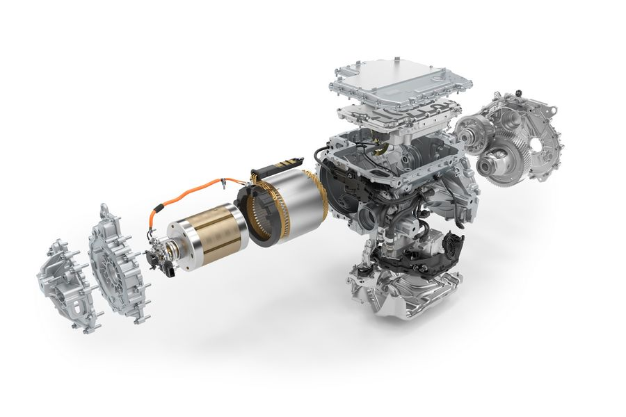 Elementi motore elettrico BMW iX3