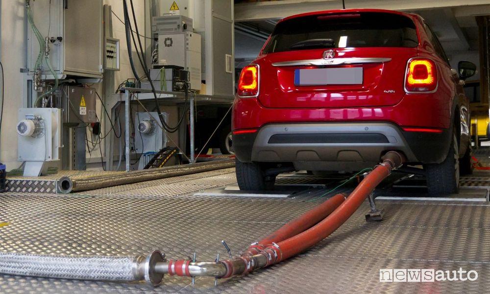 emissioni di CO2 FCA in condizione di guida reali sarebbero superiori a quelle dell'omologazione