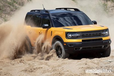Ford Bronco Sport First Edition in off road
